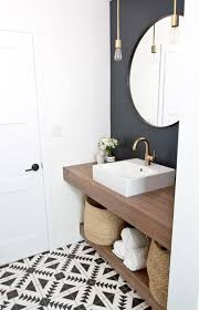 Best 25 Black Bathroom Floor by Best 25 Powder Room Design Ideas On Pinterest Powder Room