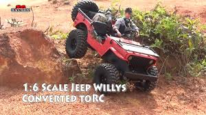 jeep willys custom custom 1 6 scale jeep willys scale model converted to rc truck
