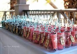 koozie wedding favor jar straw and wedding koozie presentation see more