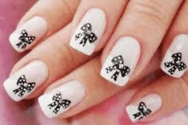 16 girly bow nail art designs