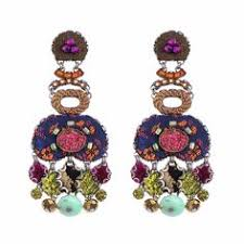 hip earrings green summer hip collection earrings by ayala bar schnick