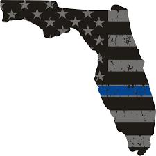 Florida State Flag Image Thin Blue Line Flag Florida State Decal