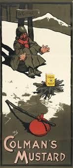 colman s mustard colmans mustardto klondike by hassall on artnet
