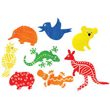australian animal shapes cleverpatch suitable for