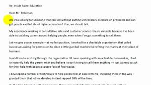Examples Of Customer Service Cover Letters Example For Cover Letter Youtube