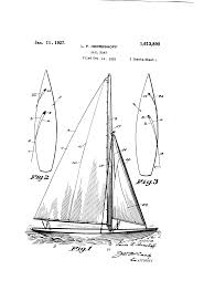 patent us1613890 sailboat google patents