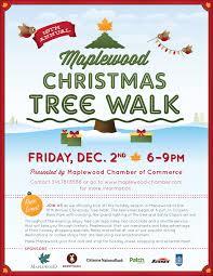 maplewood christmas tree walk u2014 rebecca lee