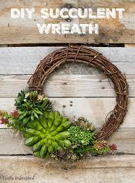 succulent wreath succulent diy wreath tutorial crafts unleashed