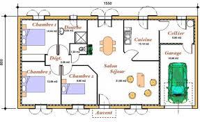 plan maison 3 chambres plain pied plan maison gratuit le bon pour construire ou faire plans de plain