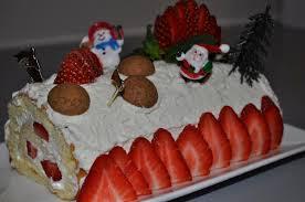 cuisine de noel 2014 bûche de noël aux fraises gulcan cuisine