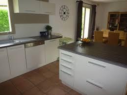 cuisine brun et blanc nouvelle maison nouvelle cuisine photo 2 4 3497840