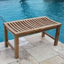 Grade A Teak Patio Furniture by Outdoor Teak Bench Step Halicio