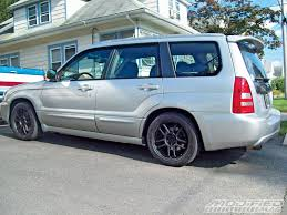 modded subaru outback building your own subaru forester sti modified magazine