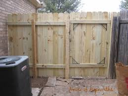 Gate For Backyard Fence How To Repair Build A Fence And Gate Complete Tutorial With