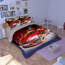 online shop cool race car sports car bedding set twin queen king