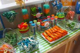 Candy Buffet For Parties by Go Dog Go Book Themed Boy U0027s Birthday Party Spaceships And