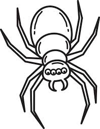 Spider Color Pages Free Printable Halloween Spider Coloring Page For Kids 3 by Spider Color Pages