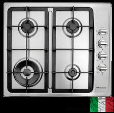 Italian Cooktop Bompani 60cm Ecoline Gas Cooktop Ss 4 Burner Italian Made Ebay