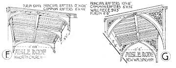 aisle roofs u2014 open timber roofs of the middle ages 3 drawn by