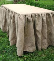 cheap tablecloth rentals 90 table linen ruffled burlap tablecloth faux