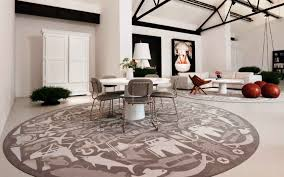 round dining room rugs cool with picture of round dining ideas 4