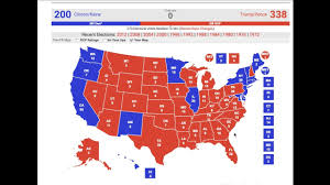 1972 Election Map by Donald Trump And Hillary Clinton U0027s Path To Victory Youtube