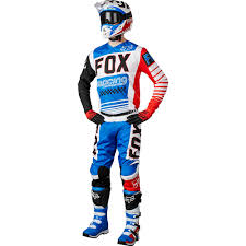 motocross boots size 5 new fox racing 2017 mx comp 5 le fiend blue red white dirt bike
