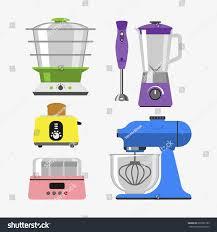 Electronics Kitchen Appliances - home appliances cooking kitchen home equipment stock vector