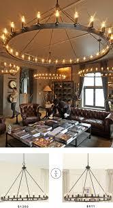 lighting fantastic style restoration hardware chandelier