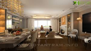 inspiration modern 3d living room design view yantram