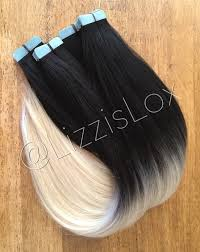 lox hair extensions 22 in extensions black to ombre 100 remy