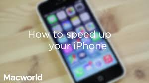 how to speed up a slow iphone faster performance tips macworld uk
