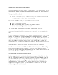 Example Of An Resume by How To Write A Thesis Essay