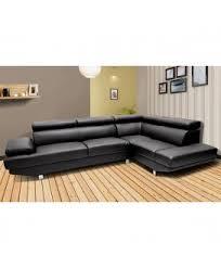 canapé d angle noir et blanc pas cher canapés d angles pas chers dya shopping fr