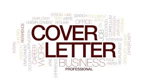 cover letter animated word cloud text design animation stock