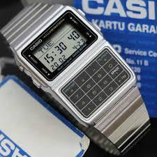 Jam Tangan Casio jam tangan casio original dbc 611e kalkulator rantai silver