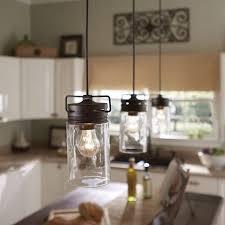 Industrial Rustic Lighting Pendant Light Mason Jar Light Pendant Lighting Kitchen Island Jar