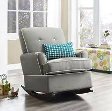 baby relax tinsley nursery rocking chair grey ebay