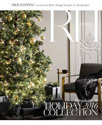 restoration hardware discover the holiday 2016 collection