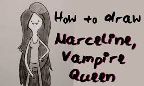 ep 14 how to draw marceline the vampire queen youtube