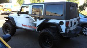 aqua jeep wrangler truck wrap archives linson signs