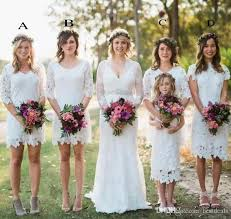 country style bridesmaid dresses 2017 country style bridesmaid dresses lace summer garden boho