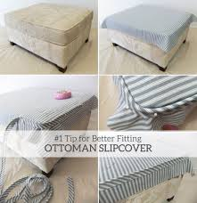 Make Storage Ottoman by Ottomans Slipcovered Chairs And Ottomans Building A Storage