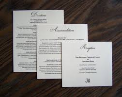 wedding invitations inserts information card inserts for wedding invitations 20