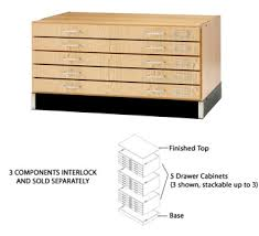 Wood Flat File Cabinet All Flat File System By Shain Options Art U0026 Vocational Furniture