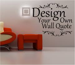 make your own wall art stickers home design