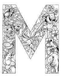 free coloring pages alphabet letters 42 best color pages images on pinterest coloring books