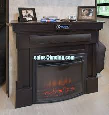 Built In Electric Fireplace Insert Electric Fireplace Heater Curved Front Log Led Flame Effect