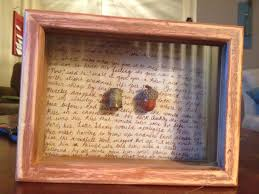 Passage Decor by Peter Pan Shadow Box Acorn And Thimble Glued On The Passage From