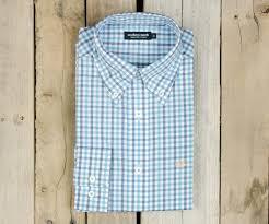 southern marsh collection u2014 evans gingham dress shirt